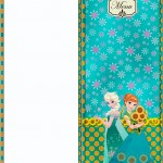 Menu Frozen Fever Cute
