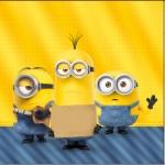 Mini Confeti Os Minions