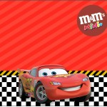 Mini M&M Carros Disney