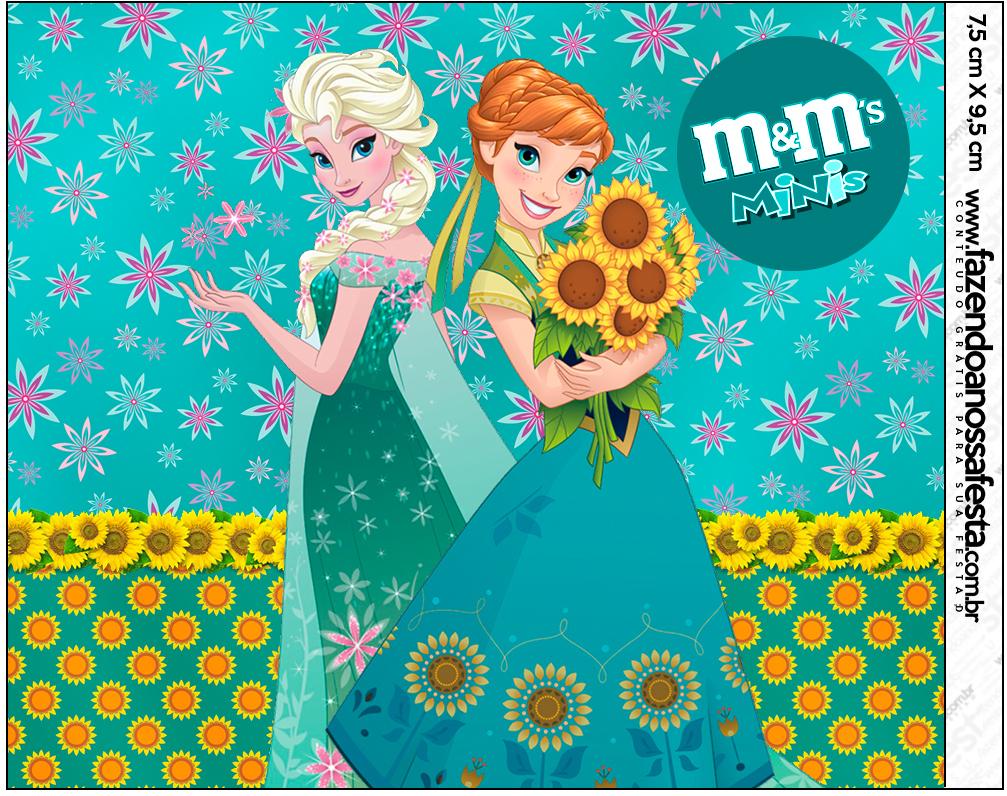 Mini M&M Frozen Fever Cute