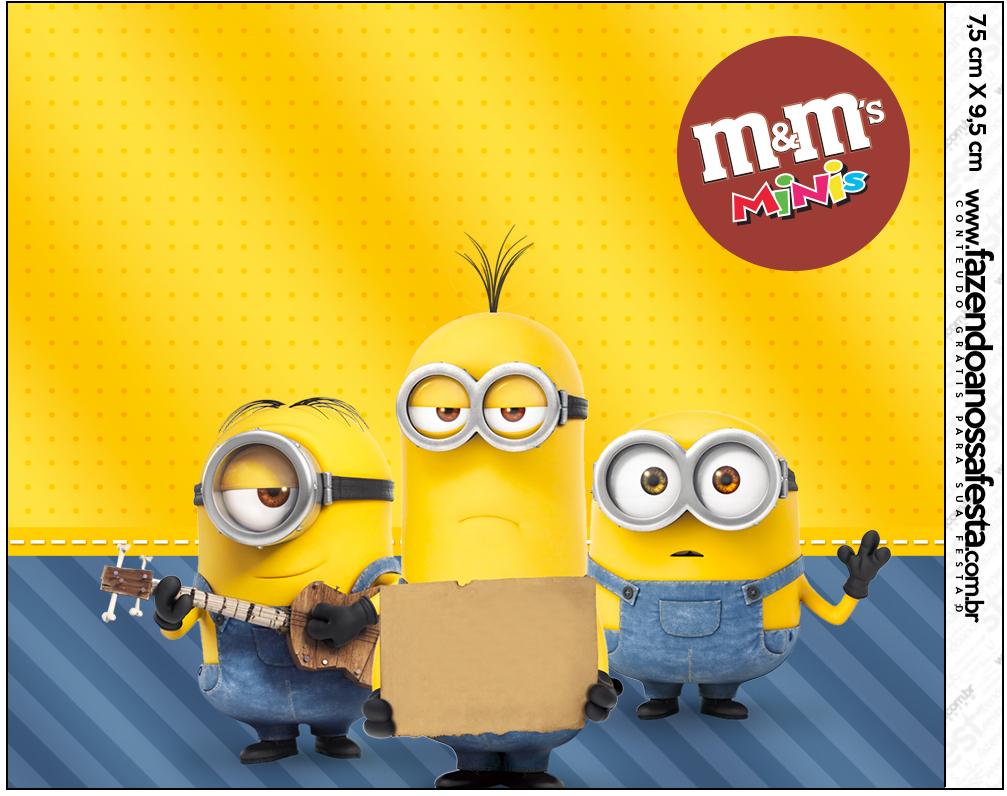 Mini M&M Os Minions