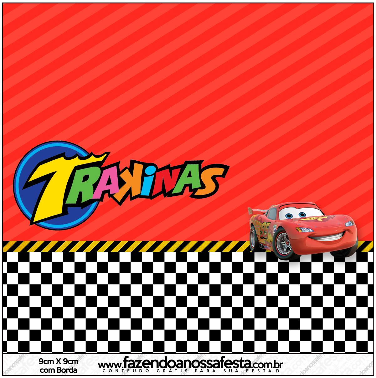 Mini Trakinas Carros Disney