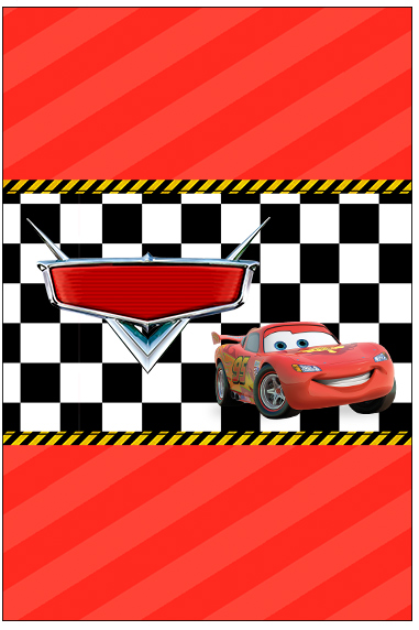 Molde Bala Personalizada Carros Disney
