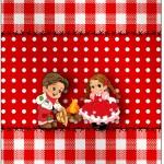 Molde Bala Personalizada Kit Festa Junina Vermelho e Branco