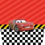 Molde Balde de Pipoca Carros Disney