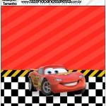 Molde Quadrado Carros Disney