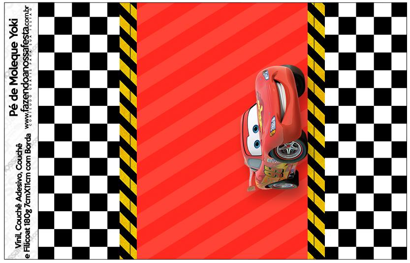 Pé de Moleque Yoki Carros Disney
