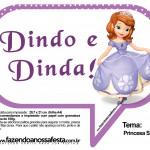 Plaquinhas Divertidas Princesa Sofia 20