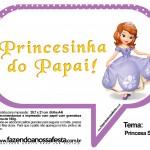 Plaquinhas Divertidas Princesa Sofia 26