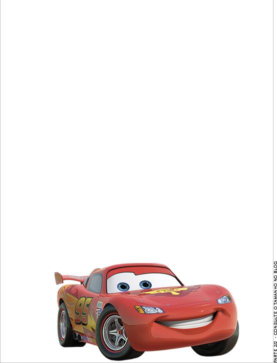 Passaporte parte de dentro Carros Disney