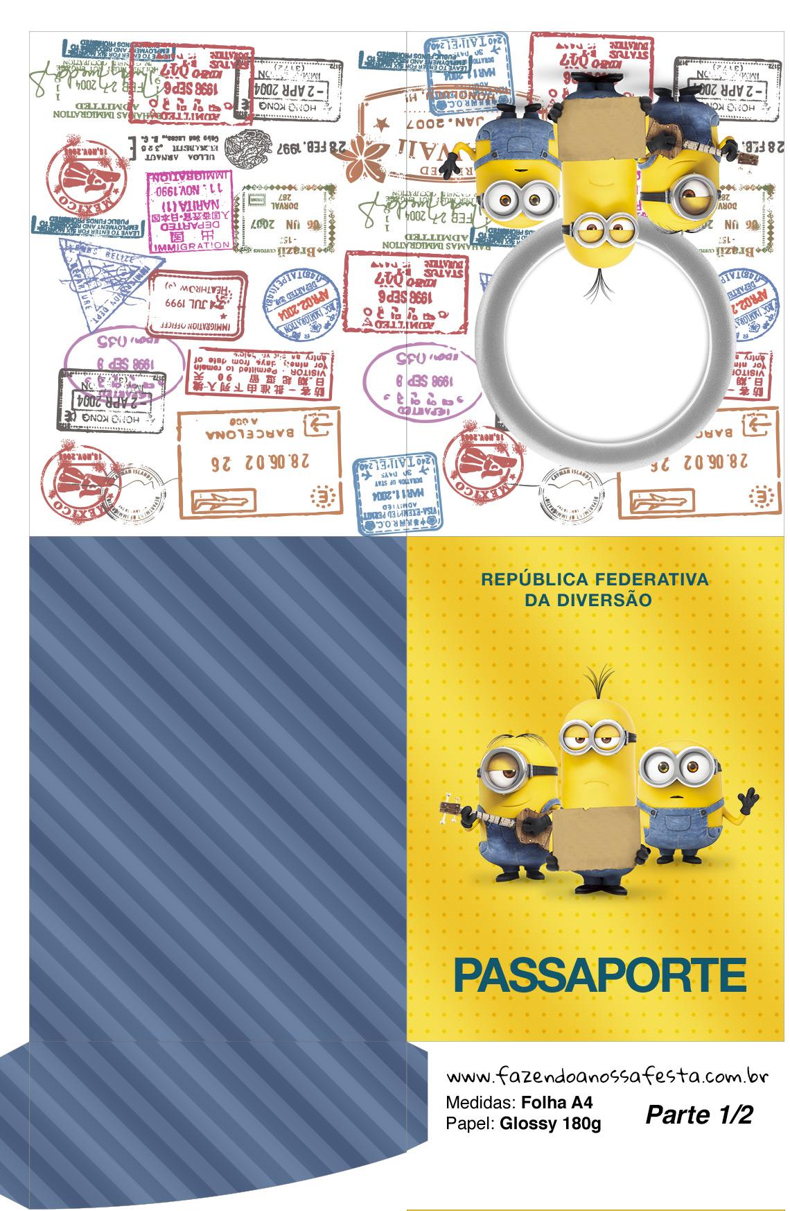 Passapote Os Minions