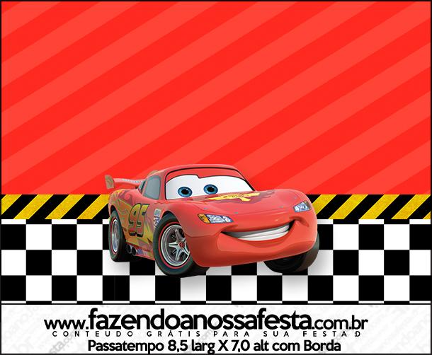 Passatempo Carros Disney