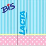 Rótulo Bis Duplo Azul e Rosa