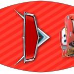 Rótulo Esmalte Carros Disney