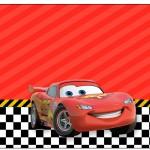 Rótulo Espumante Carros Disney