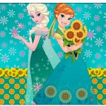 Rótulo Espumante Frozen Fever Cute