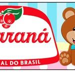 Rótulo Guaraná Caçulinha Chá Revelação