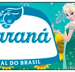 Rótulo Guaraná Frozen Fever Cute