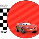 Rótulo Guardanapos Carros Disney