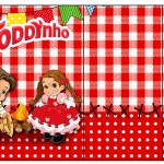 Rótulo Toddynho Kit Festa Junina Vermelho e Branco