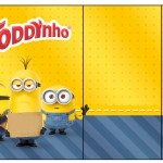 Rótulo Toddynho Os Minions