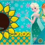 Rótulo para Caixa Bombom Frozen Fever Cute