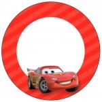 Rótulo para Tubetes Carros Disney