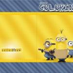 Revista de Colorir Os Minions