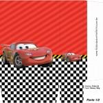 Sacolinha Surpresa Carros Disney - A4 Parte 1