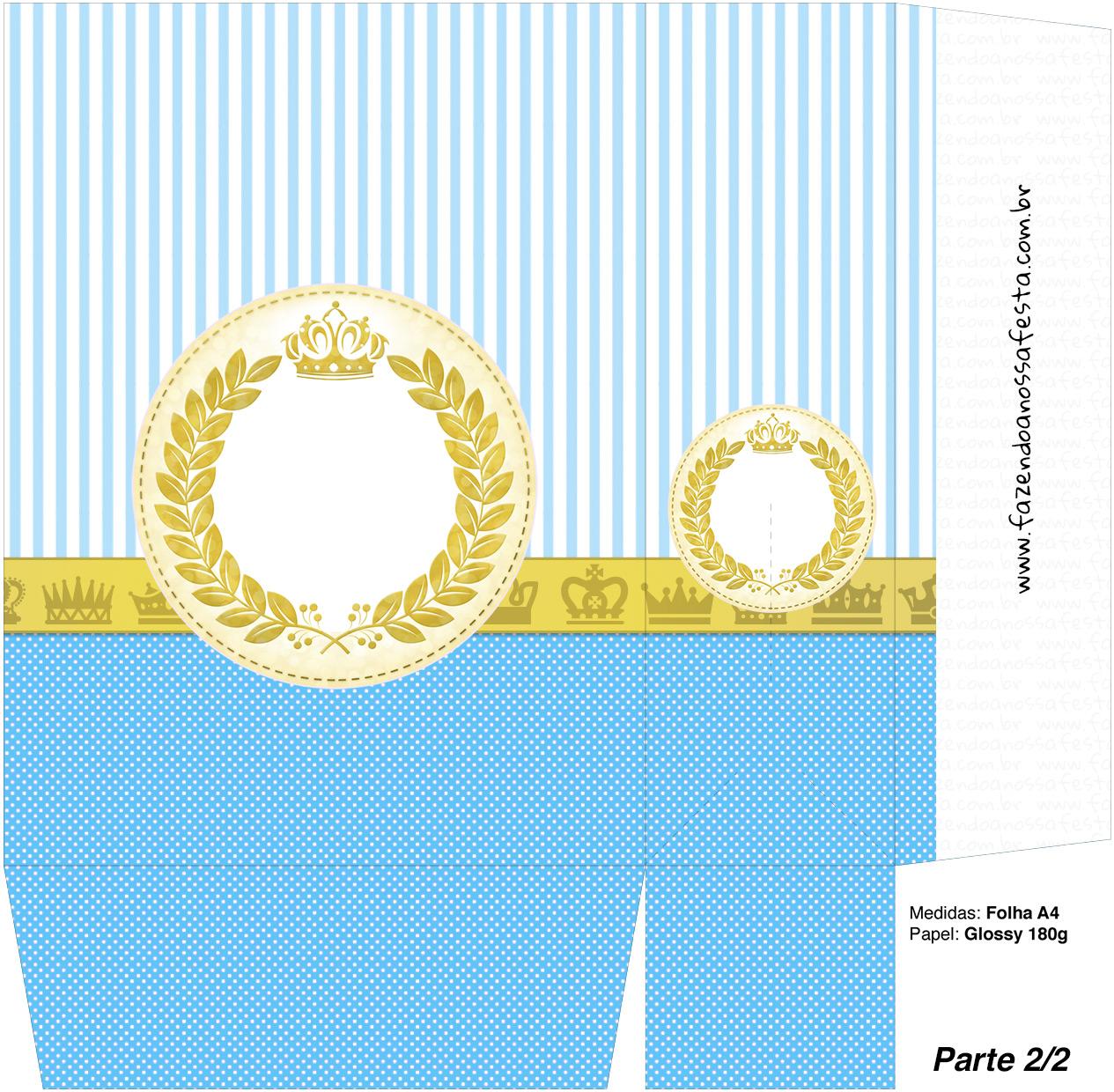 Sacolinha Surpresa Coroa Príncipe - A4 parte 2
