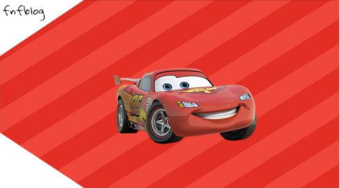 Tag Agradecimento Carros Disney 2