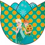 Topper Tulipa Frozen Fever Cute
