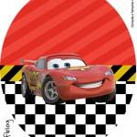 Tubete Oval Carros Disney