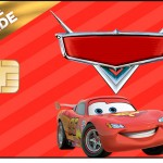 Vale brinde Carros Disney