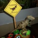 Festa Dinossauros do João Lucas - Decoração 4