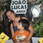 Festa Dinossauros do João Lucas - Mamãe e João Lucas