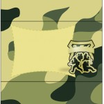 Bala Personalizada Kit Militar Camuflado