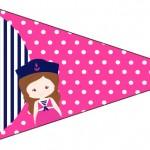 Bandeirinha Sanduiche 3 Menina Marinheira