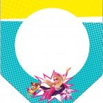 Bandeirinha Varalzinho Barbie Super Princesa