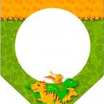 Bandeirinha Varalzinho Dinossauro Cute