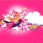 Barbie Super Princesa Rosa Modelo
