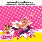 Batom Garoto Barbie Super Princesa Rosa