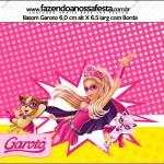 Batom Garoto Barbie Super Princesa Rosa