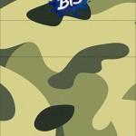 Bis Duplo 3D Kit Militar Camuflado