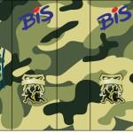 Bis Lacta Kit Militar Camuflado