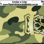 Bisnaga 30gr Kit Militar Camuflado
