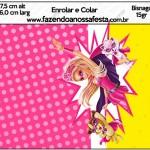 Bisnaga Brigadeiro 15gr Barbie Super Princesa Rosa
