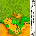 Bisnaga Brigadeiro 15gr Dinossauro Cute