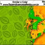 Bisnaga Brigadeiro 30gr Dinossauro Cute