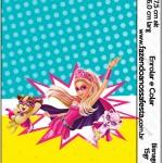 Bisnaga Brigadeiro Barbie Super Princesa